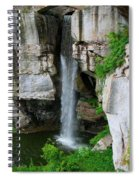 Lover's Leap Waterfall Spiral Notebook