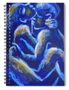 Lovers - Night Of Passion 4 Spiral Notebook
