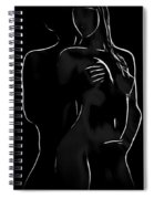 Lovers Night Spiral Notebook