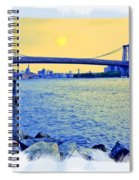 Lovers On The Rocks Spiral Notebook