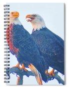 Lovers Quarrel Spiral Notebook