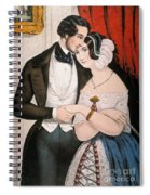 Lovers Reconciliation Spiral Notebook
