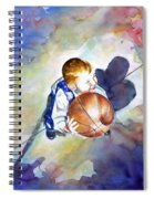 Loves The Game Spiral Notebook
