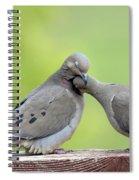 Lovey Doveys Spiral Notebook