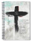 Loving Kindness Cross- Art By Linda Woods Spiral Notebook