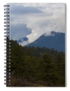 Low Clouds In Ute Pass Colorado Spiral Notebook
