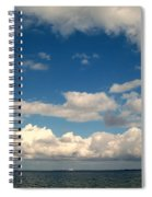 Low Hanging Clouds Spiral Notebook