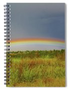 Low Lying Rainbow Spiral Notebook