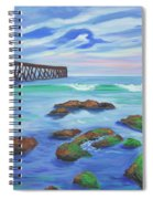 Low Tide At Haskell's Beach Spiral Notebook