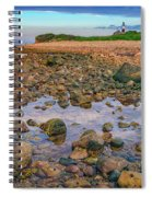 Low Tide At Montauk Point Spiral Notebook