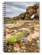 Low Tide At Saddle Rocks Spiral Notebook