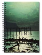 Low Tide By Moonlight Spiral Notebook