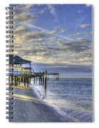 Low Tide Sunrise Tybee Island Spiral Notebook