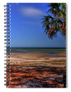 Low Tide Time Spiral Notebook