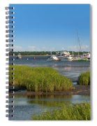 Lowcountry Blue Skies Spiral Notebook
