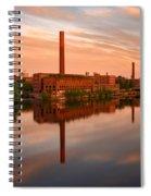 Lowell Skyline  Spiral Notebook