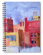 Lowell Sun Watercolor Spiral Notebook