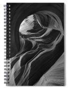 Lower Antelope Canyon 7712 Spiral Notebook
