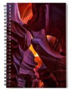 Lower Antelope Lines Spiral Notebook