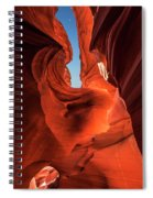 Lower Antelope Slot Canyon Spiral Notebook