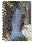 Lower Christine Falls Spiral Notebook