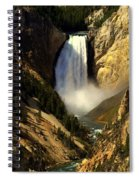 Lower Falls 2 Spiral Notebook
