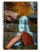Lower Falls At Kaaterskill Spiral Notebook
