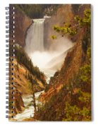 Lower Falls From Artists Viewpoint Spiral Notebook