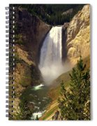 Lower Falls Spiral Notebook
