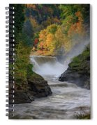 Lower Falls Of The Genesee River Spiral Notebook