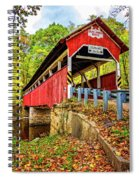 Lower Humbert Covered Bridge 2 Spiral Notebook