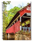 Lower Humbert Covered Bridge 3 Spiral Notebook