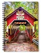 Lower Humbert Covered Bridge 5 Spiral Notebook