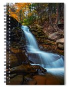 Lower Kaaterskill Falls Spiral Notebook
