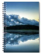 Lower Lake Sunset Spiral Notebook