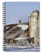 Lower Newton Rd. Barn Spiral Notebook