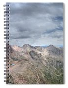 Lower North Eolus From The Catwalk - Chicago Basin - Weminuche Wilderness - Colorado Spiral Notebook