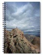 Lower North Eolus From The Catwalk Detail - Chicago Basin - Weminuche Wilderness - Colorado Spiral Notebook