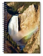 Lower Rainbow Of Colors Spiral Notebook