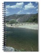 Lower Sisquoc River - San Rafael Wilderness Spiral Notebook