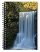 Lower South Falls Closeup Spiral Notebook