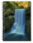 Lower South Falls Landscape Spiral Notebook