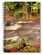 Lower Tahquamenon Falls 1 Spiral Notebook