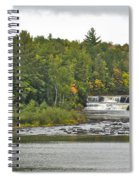 Lower Tahquamenon Falls 4 Spiral Notebook