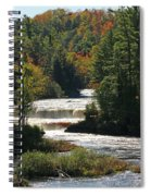 Lower Tahquamenon Falls  4349 Spiral Notebook
