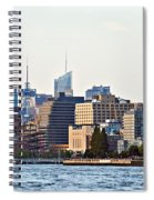 Lower West Side On The Waterfront Spiral Notebook