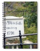 Lower White Hills Cemetery Spiral Notebook
