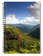 Lower Wiamea View Spiral Notebook