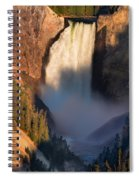 Lower Yellowstone Falls Spiral Notebook