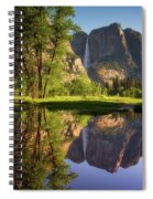 Lower Yosemite Morning Spiral Notebook